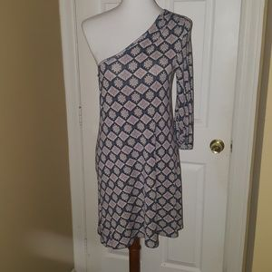 One sleeve dress, size M